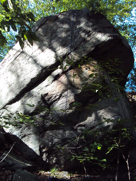 Rock Climbing Photo: Double Roof boulder left side.