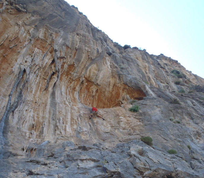Ken in the crux of Delta.  Ghost Kitchen Kalymnos.