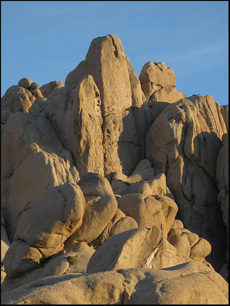 Rock Climbing Photo: Skin Diver-early morning. Photo by Blitzo.