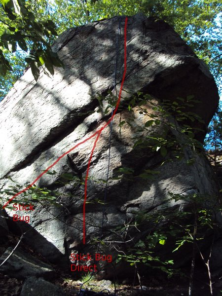 Rock Climbing Photo: The face on the left side.