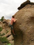 Rock Climbing Photo: geriatric burns off young guns v3