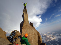 Rock Climbing Photo: Starlight Peak.