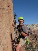 Rock Climbing Photo: Stoked and sweaty