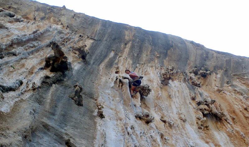 Anja on Remember Wadi Rum at Ghost Kitchen on Kalymnos.