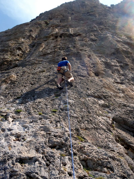 Me on Dell Mabul at Arhi on Kalymnos.