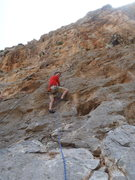 Rock Climbing Photo: Start of Borhok.