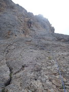 Rock Climbing Photo: On Laertes.