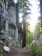 Rock Climbing Photo: The Upper Section of Stream Wall