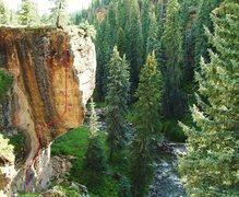 Rock Climbing Photo: A beautiful line.
