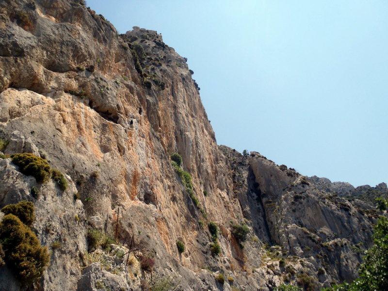 Rock Climbing Photo: Zeus sector.