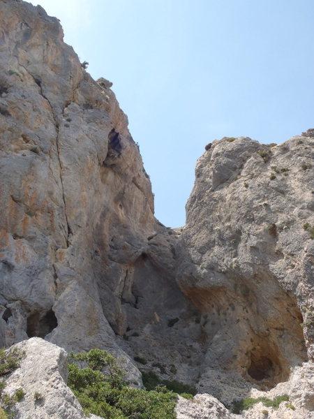 Rock Climbing Photo: For Telendian