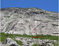 Rock Climbing Photo: Sinister Satisfaction