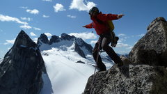 Rock Climbing Photo: On Surfs Up ledge