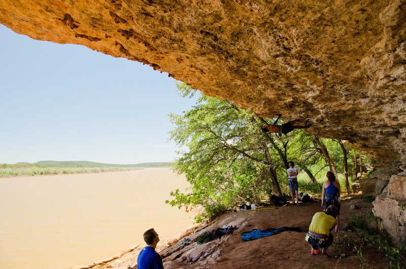 Rock Climbing Photo: Mario Stanley on Columbia.