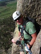 Rock Climbing Photo: p1 on el cracko
