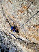 Rock Climbing Photo: Top of Pitch 2