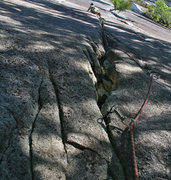 Rock Climbing Photo: turnip