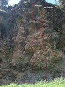 Rock Climbing Photo: Reprieve and Mr. Dubious.