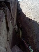 Rock Climbing Photo: 5.9+ Dihedral V-Groove