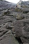 Rock Climbing Photo: The long corner