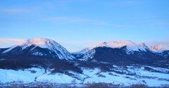 Rock Climbing Photo: Buffalo Mountain at sunrise.