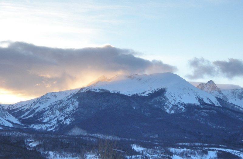Rock Climbing Photo: Red Mountain, Gore Range.