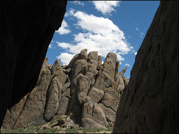 Rock Climbing Photo: Looking south from one of the corridors. Photo by ...