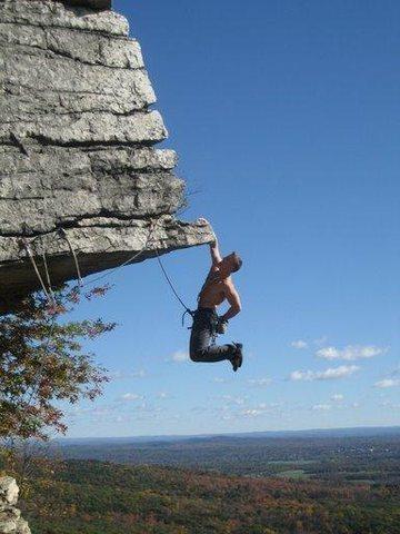Rock Climbing Photo: dangler