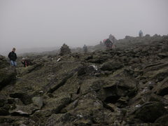Hiking Mt Washington (The rock pile) August 2011