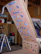 Rock Climbing Photo: My HIT strips setup