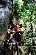 Rock Climbing Photo: Luke on Dirty Business.