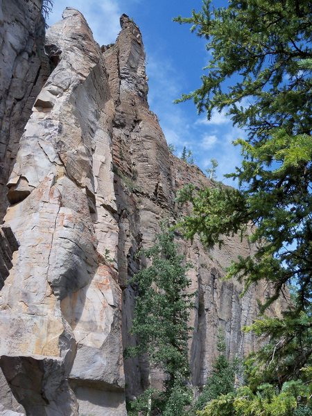 Rock Climbing Photo: Author's Tower foreground, Ismael Tower background