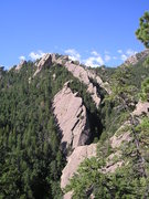 Rock Climbing Photo: South side of Skunk Canyon from Hillybilly Rock.