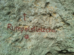 Rock Climbing Photo: The label