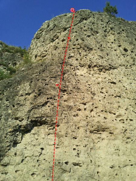 Rock Climbing Photo: Hilfe!