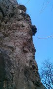 Rock Climbing Photo: Left Lane 5.10a