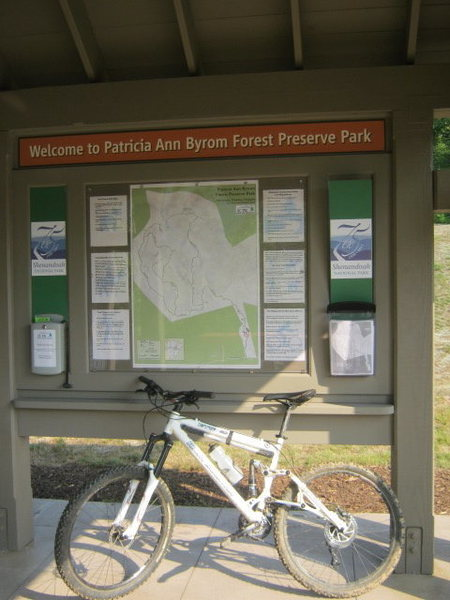 Grab a map from the info kiosk or print out from given website prior to heading up trails.