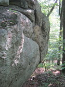 Rock Climbing Photo: Another shot of Yonder Boulder.