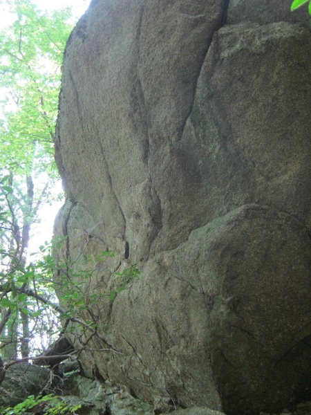 Rock Climbing Photo: another side of Last Stop Boulder.