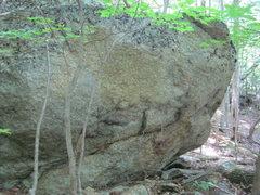 Rock Climbing Photo: Second boulder.