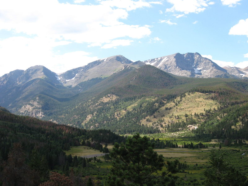 The Mummy Range in RMNP equals fantastic day hike. All 3 peaks are very accessible in an isolated area 8/11