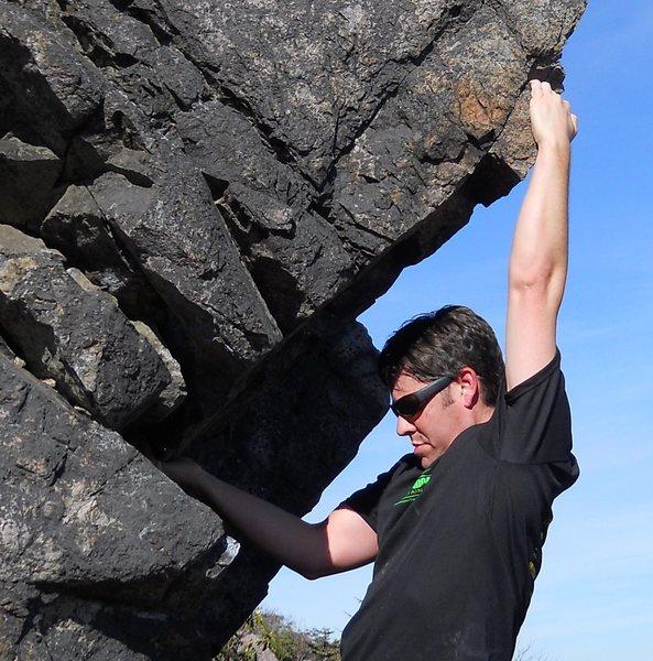 Rock Climbing Photo: @ Grayson Highlands somewhere up near Rhody Gap