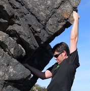 Rock Climbing Photo: @ Grayson Highlands somewhere up near Rhody Gap