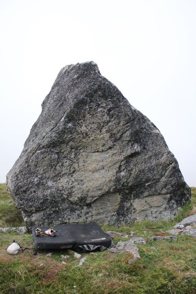 Crucifix Boulder Main Face