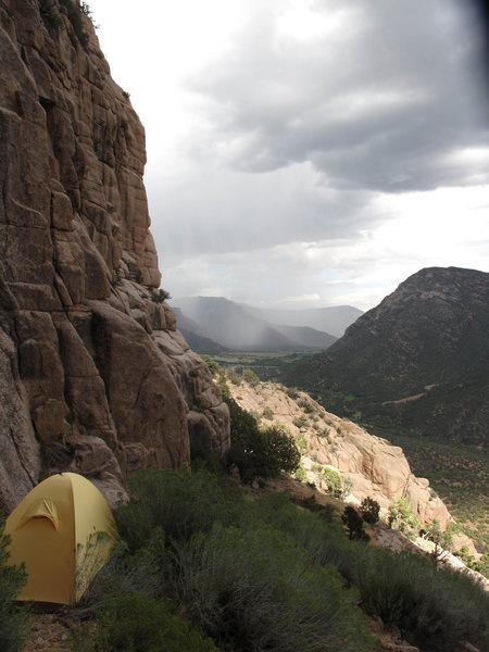 Rock Climbing Photo: Camp.