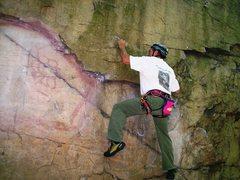Rock Climbing Photo: Hard start.