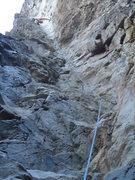 Rock Climbing Photo: Better shot of tube.