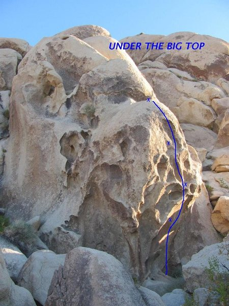 Rock Climbing Photo: Under The Big Top