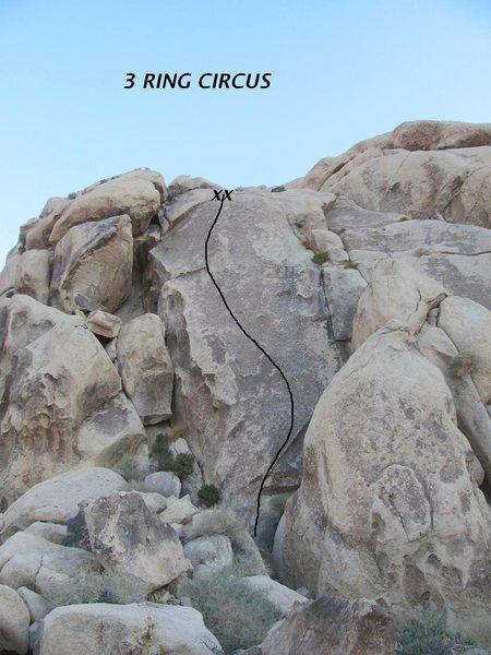 Rock Climbing Photo: 3 Ring Circus