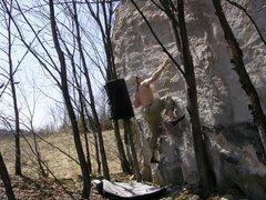 Rock Climbing Photo: Cubism FA - DuBois Area, PA